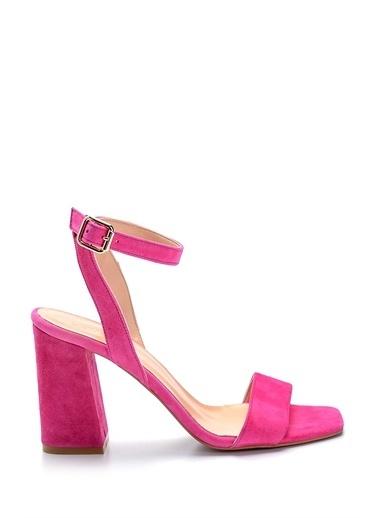 Derimod Kadın Sandalet(014115-47) Casual Fuşya
